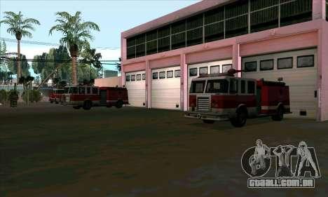 Realista de bombeiros em Las Venturas para GTA San Andreas terceira tela