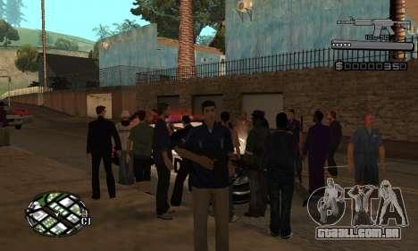 C-HUD Smoke para GTA San Andreas