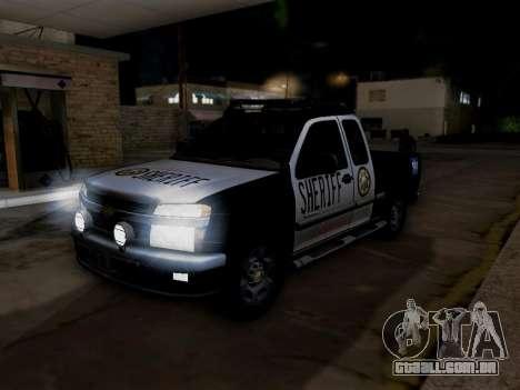 Chevrolet Colorado Sheriff para o motor de GTA San Andreas