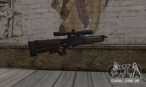 Walther WA2000 para GTA San Andreas segunda tela