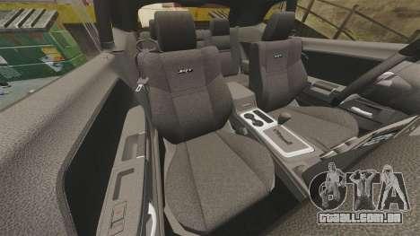 Dodge Challenger SRT8 2012 para GTA 4 vista lateral