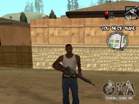 C-HUD by San4os para GTA San Andreas terceira tela