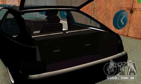 VAZ-21123 TURBO-Cobra para GTA San Andreas vista interior