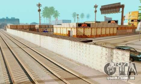 A nova textura pizzarias e comodidades Iludem para GTA San Andreas sexta tela