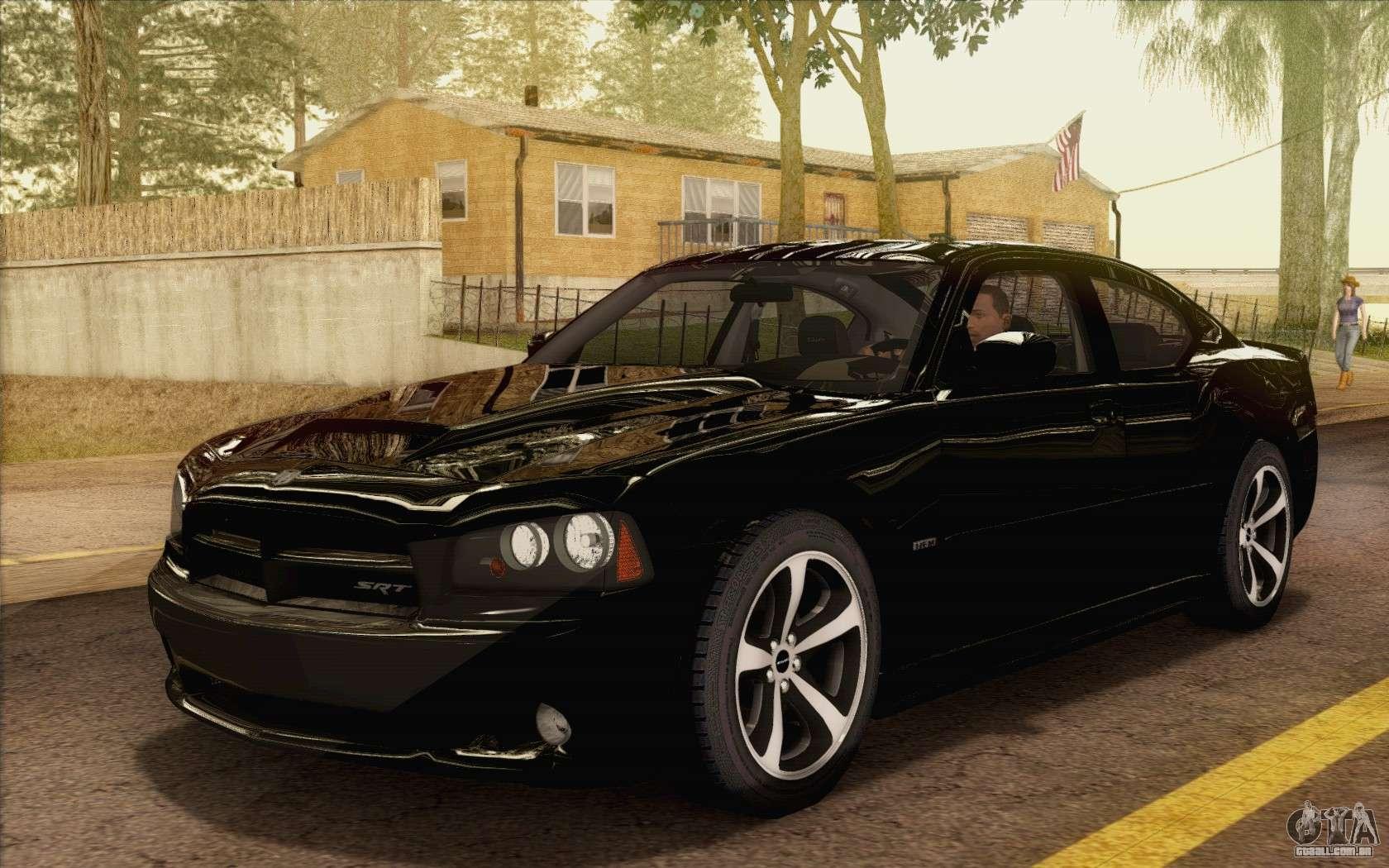 Dodge Charger Srt8 2006 Para Gta San Andreas