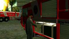 Realista de bombeiros em Las Venturas para GTA San Andreas