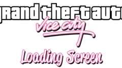 Arranque telas de GTA Vice City