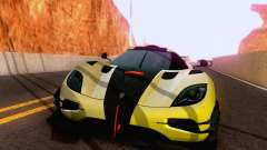 Koenigsegg One 2014 para GTA San Andreas