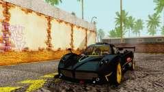 Pagani Zonda Type R Black