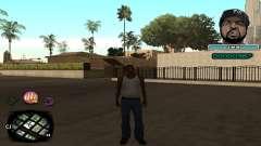 C-HUD Ice Cube para GTA San Andreas