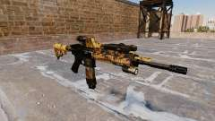 Automatic rifle Colt M4A1 Queda Camos