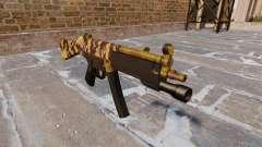 A metralhadora HK MP5 Queda Camos