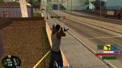 C-HUD Rainbow para GTA San Andreas