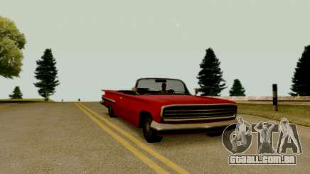 Voodoo Conversível (versão sem luzes) para GTA San Andreas