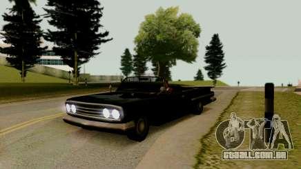 Voodoo Conversível (versão com faróis) para GTA San Andreas