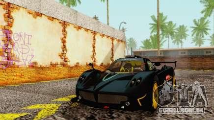 Pagani Zonda Type R Black para GTA San Andreas
