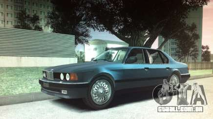 BMW 735iL e32 para GTA 4