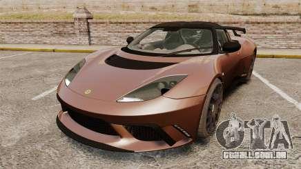 Lotus Evora GTE Mansory para GTA 4