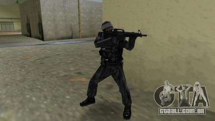 Lutador russo Spetsnaz do CS:CZ para GTA Vice City