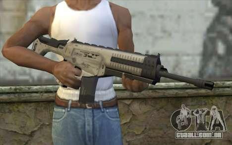 ARX-160 Rifle de Assalto из COD Fantasmas para GTA San Andreas terceira tela