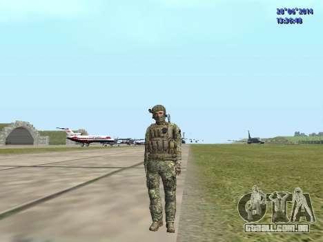 Alfa Antiterror para GTA San Andreas nono tela