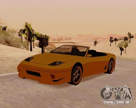Super GT Conversível para GTA San Andreas