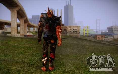 Zumbi para GTA San Andreas segunda tela