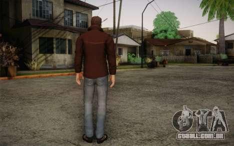 Dean Winchester para GTA San Andreas segunda tela