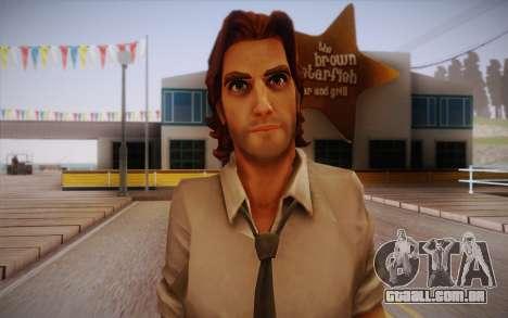 Bigby Wolf para GTA San Andreas terceira tela