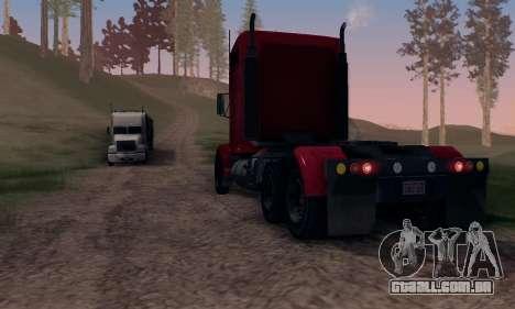 GTA V Packer para vista lateral GTA San Andreas