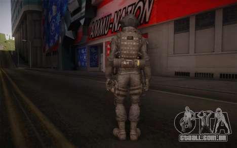 U.S. Secret Service Operative para GTA San Andreas segunda tela