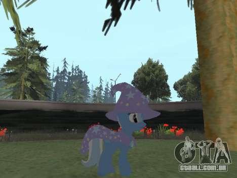 Trixie para GTA San Andreas segunda tela