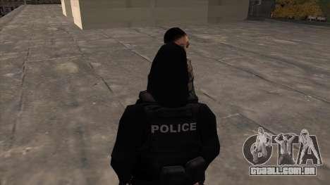Special Weapons and Tactics Officer Version 4.0 para GTA San Andreas segunda tela