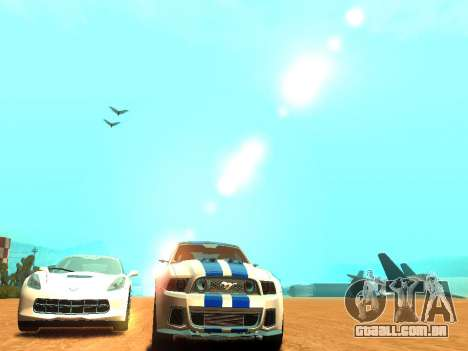 ENBSeries Realistic Beta v2.0 para GTA San Andreas sexta tela