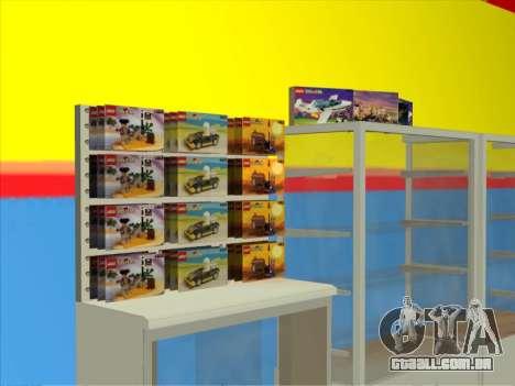 O LEGO shop para GTA San Andreas segunda tela