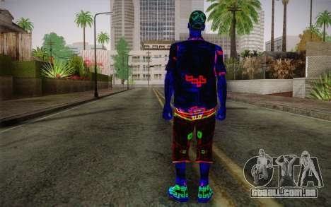 Zero VirusStyle Skin para GTA San Andreas segunda tela