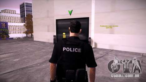 Special Weapons and Tactics Officer Version 4.0 para GTA San Andreas