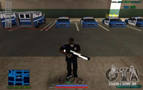 C-HUD by CONVERSION para GTA San Andreas segunda tela