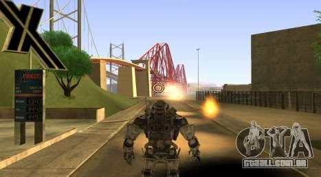 TitanFall Atlas para GTA San Andreas sexta tela