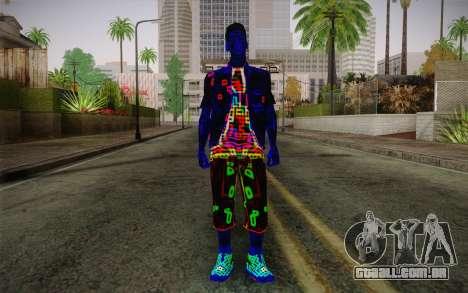 Zero VirusStyle Skin para GTA San Andreas