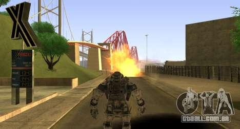 TitanFall Atlas para GTA San Andreas sétima tela