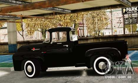 Ford F100 Hot Rod Truck 426 Hemi para GTA 4 esquerda vista