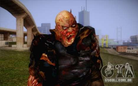 Zumbi para GTA San Andreas terceira tela