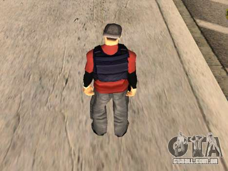 Special Weapons and Tactics Officer Version 4.0 para GTA San Andreas oitavo tela