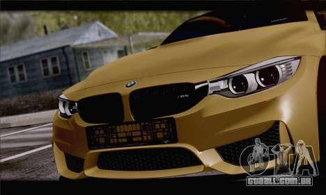 BMW M4 F80 Stanced para GTA San Andreas vista direita