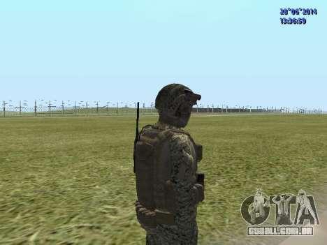 Alfa Antiterror para GTA San Andreas quinto tela