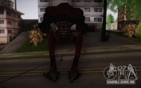 Bio-Mechanoid из SS3 para GTA San Andreas segunda tela