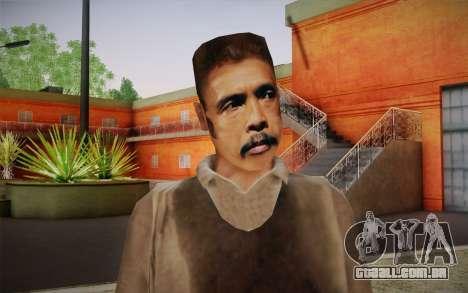 Maddog Pele из O Raid para GTA San Andreas terceira tela