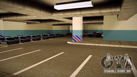 Nova garagem LSPD para GTA San Andreas