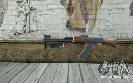 AK47 com uma baioneta para GTA San Andreas